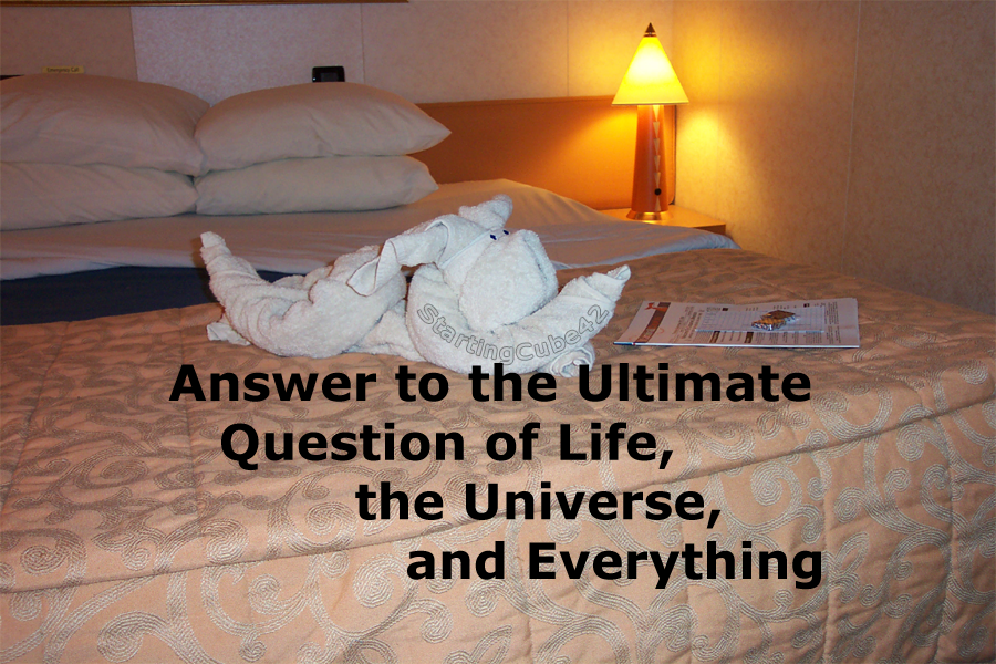 A personal answer to the question of existence