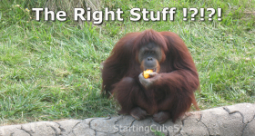 StartingCube51 - The Right Stuff