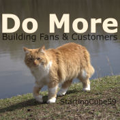 StartingCube 59 - Do More : Building Fans & Customers